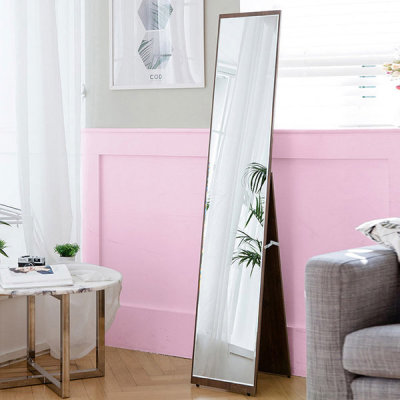 Free shipping in Korea etching full length floor mirror/wall mount