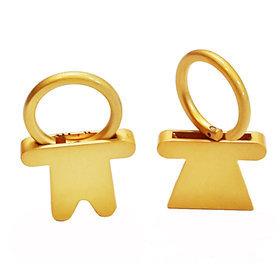 1)남녀커플키링man+woman couple(gold)