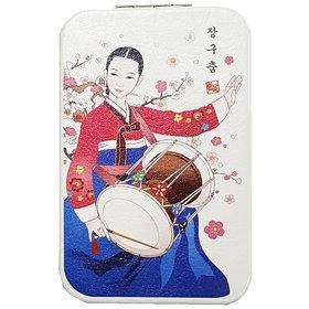 5)장구춤콤팩트거울Janggu dance compact mirror