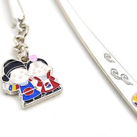 93)비녀커플책갈피(5개)couple metal bookmark(5pcs)
