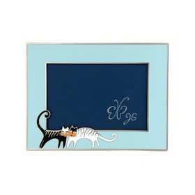 5.러브캣액자(스카이블루)cat loving(skyblue)