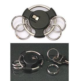 1)휠멀티키링wheel multi ring key ring