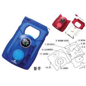 7)카드형서바이벌키트survival card(블루blue)